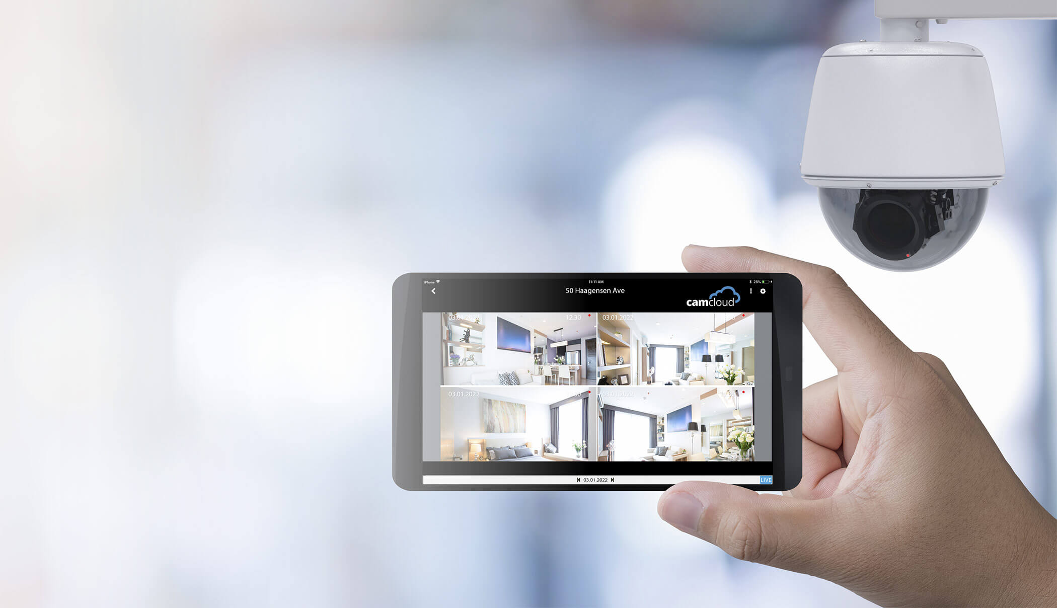 Free Cloud Video Surveillance for Home Security Cameras and